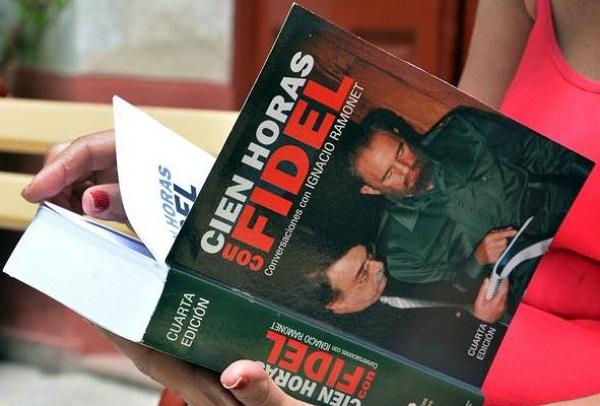libro Cien horas con Fidel
