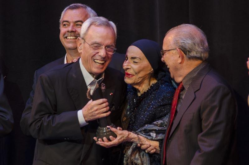 Eusebio Leal recibe el Premio Anual del Gran Teatro de La Habana Alicia Alonso
