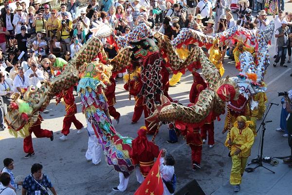 Foto de las Romerías de Mayo en Holguín