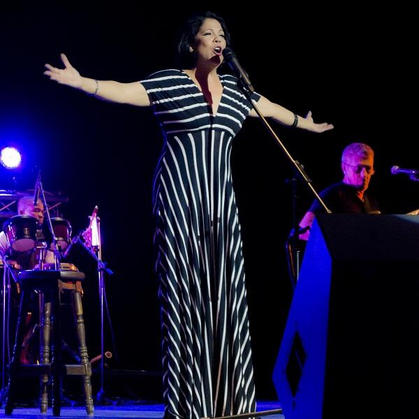 cantante cubana Ivette Cepeda