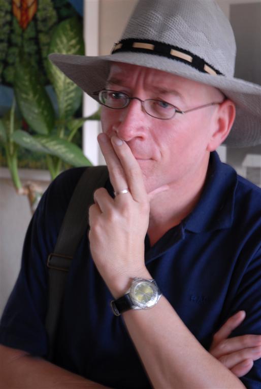foto de Laudel de Jesús director de Cabotín Teatro