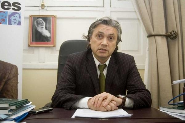 foto del senador chileno Alejandro Navarro